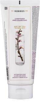 Korres Almond & Linseed après-shampoing pour cheveux secs et fragilisés
