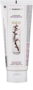 Korres Almond & Linseed balzam za suhe in krhke lase