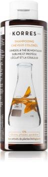 Korres Sunflower and Mountain Tea šampon pro barvené vlasy