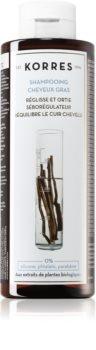 Korres Liquorice and Urtica шампунь для жирных волос