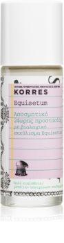 Korres Equisetum deodorante roll-on senza sali di alluminio 24 ore
