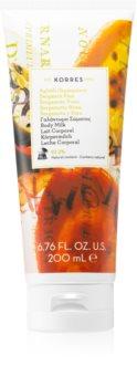 Korres Bergamot Pear feuchtigkeitsspendende Body lotion