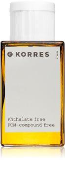 Korres Mountain Pepper, Bergamot & Coriander Eau de Toilette per uomo