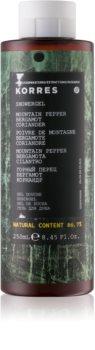 Korres Mountain Pepper, Bergamot & Coriander Shower Gel for Men