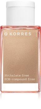 Korres Bellflower, Tangerine & Pink Pepper toaletná voda pre ženy