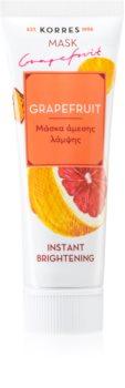Korres Grapefruit aufhellende Hautmaske mit Sofort-Effekt