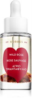 Korres Wild Rose olejek rozświetlający