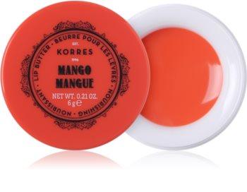 Korres Mango Unt de ingrijire a buzelor