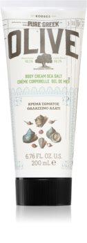 Korres Olive & Sea Salt lapte de corp delicat