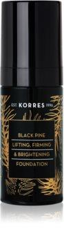 Korres Black Pine Ausstrahlendes flüssiges Make Up mit festigender Wirkung