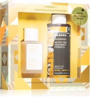 Korres White Tea, Bergamot & Freesia Gift Set V. (For Women)