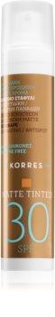 Korres Red Grape Getinte Anti-Rimpel Crème voor Gladde Huid  SPF 30