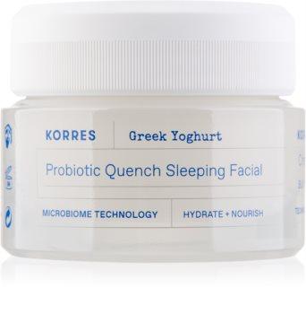 Korres Greek Yoghurt crema de noapte hranitoare cu probiotice