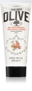 Korres Olive & Pomegranate hidratáló testápoló tej