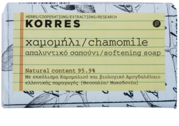 Korres Chamomile Bar Soap for Sensitive Skin