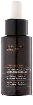 Korres Black Pine olio-siero nutriente antirughe
