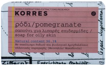 Korres Pomegranate Bar Soap For Oily Skin
