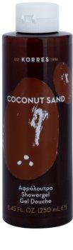 Korres Coconut Sand gel de duche