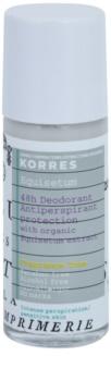 Korres Equisetum deodorant roll-on bez parfemace 48h