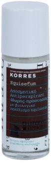 Korres Equisetum deodorant roll-on 48h