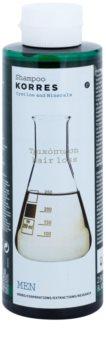 Korres Cystine & Minerals šampón proti vypadávaniu vlasov pre mužov