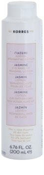 Korres Jasmine мляко за почистване на грим за околоочната област