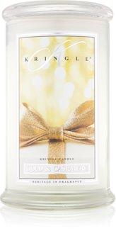 Kringle Candle Gold & Cashmere ароматна свещ