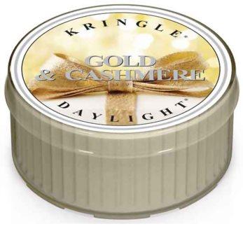 Kringle Candle Gold & Cashmere čajová svíčka