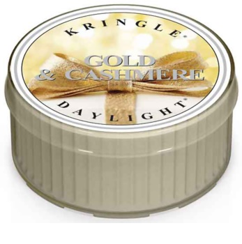 Kringle Candle Gold & Cashmere tealight candle