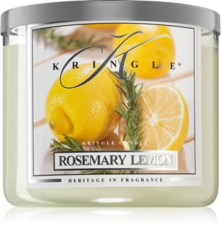 Kringle Candle Rosemary Lemon vonná sviečka I.