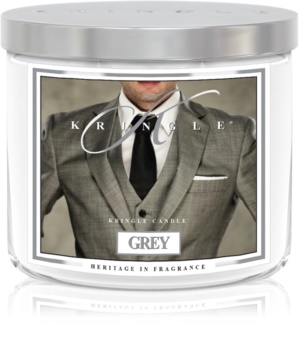 Kringle Candle Grey scented candle I.