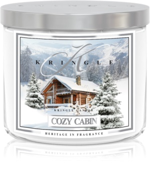 Kringle Candle Cozy Cabin scented candle I.