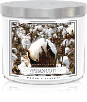 Kringle Candle Egyptian Cotton scented candle I.
