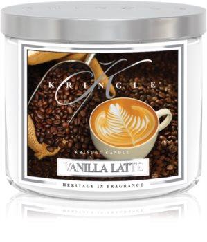 Kringle Candle Vanilla Latte vonná svíčka I.
