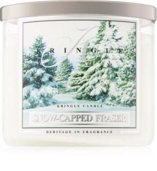 Kringle Candle Snow Capped Fraser geurkaars I.
