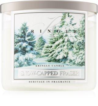 Kringle Candle Snow Capped Fraser vonná sviečka I.