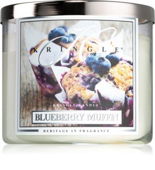 Kringle Candle Blueberry Muffin bougie parfumée I.