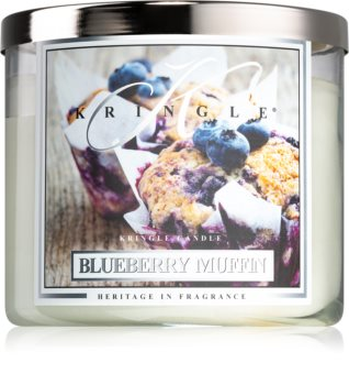 Kringle Candle Blueberry Muffin scented candle I.