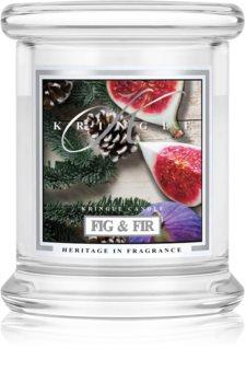 Kringle Candle Fig & Fir candela profumata