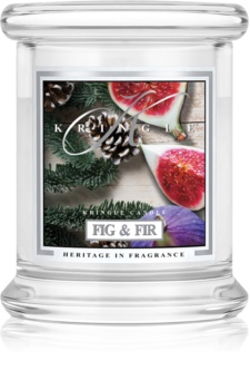 Kringle Candle Fig & Fir vonná sviečka