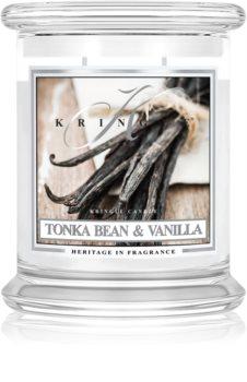 Kringle Candle Tonka Bean & Vanilla illatos gyertya