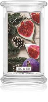 Kringle Candle Fig & Fir Tuoksukynttilä