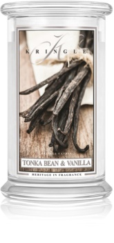 Kringle Candle Tonka Bean & Vanilla scented candle
