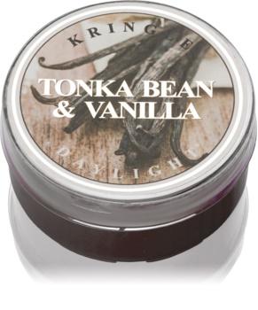 Kringle Candle Tonka Bean & Vanilla čajová svíčka