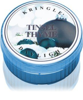 Kringle Candle Tinsel Thyme teamécses