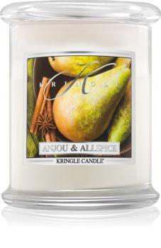 Kringle Candle Anjou & Allspice ароматна свещ