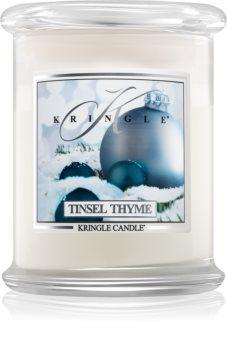 Kringle Candle Tinsel Thyme illatos gyertya