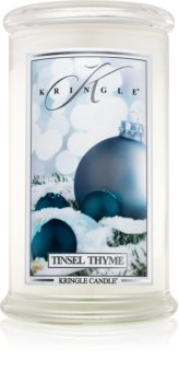 Kringle Candle Tinsel Thyme scented candle