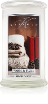Kringle Candle Warm & Fuzzy scented candle