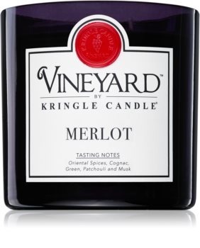 Kringle Candle Vineyard Merlot vonná svíčka